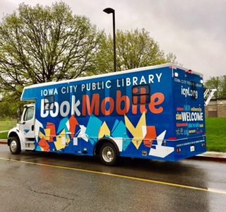 Bookmobile celebrates one year in service