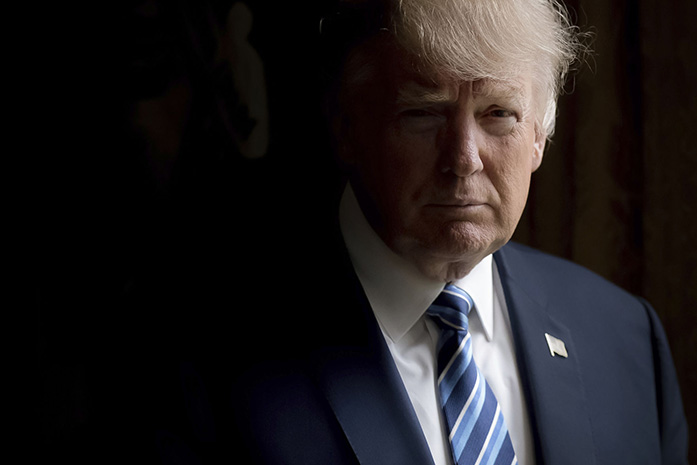 President+Trump+has+passed+his+100th+day+in+office.+%28Associated+Press%29