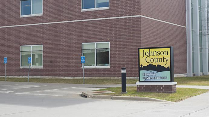 The+Johnson+County+Health+and+Human+Services+building+at+855+South+Dubuque+Street.+
