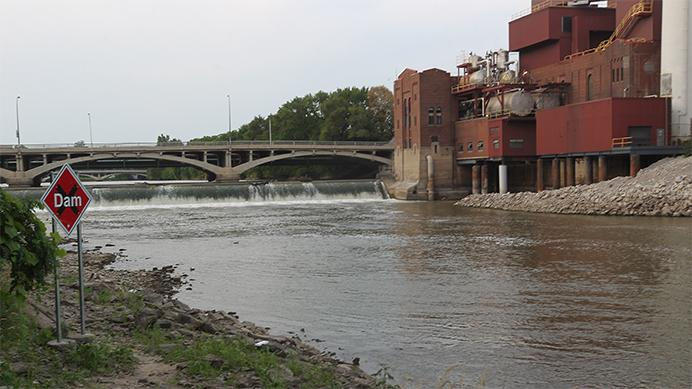 The Iowa Riveris seen on Tuesday, July 25, 2017. The DNR recently announced the launch of a program that would localize volunteer water quality monitoring efforts in Iowa. Steve Konrady, program planner for the Iowa DNR, said the DNR will likely phase out the IOWATER program begun in 1998, to be replaced by the new program. (Jim Geerdes/The Daily Iowan)