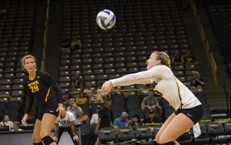 Volleyball opens at home with Hawkeye Classic
