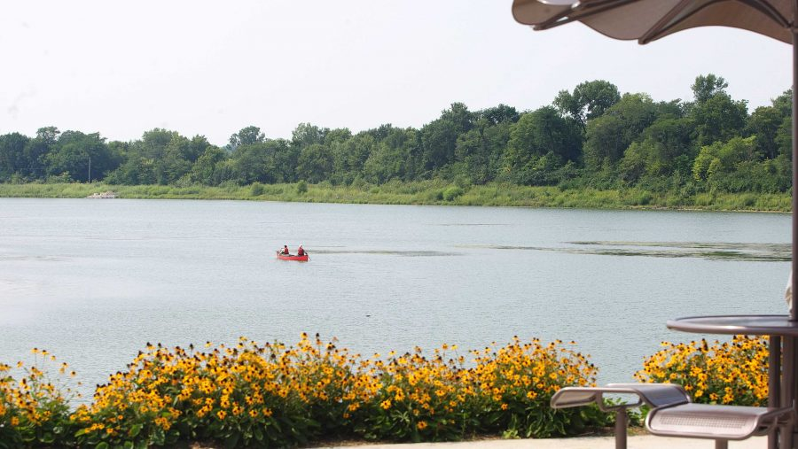 FILE+-+In+this+August+24%2C+2013+file+photo%2C+People+ride+in+their+boat+at+the+Terry+Trueblood+Recreation+Area.+The+park+itself+has+about+95.5+acres+of+surface+area+and+the+total+site+is+approximately+207+acres.+%28Juan+Carlos+Herrera%2FThe+Daily+Iowan%2C+file%29