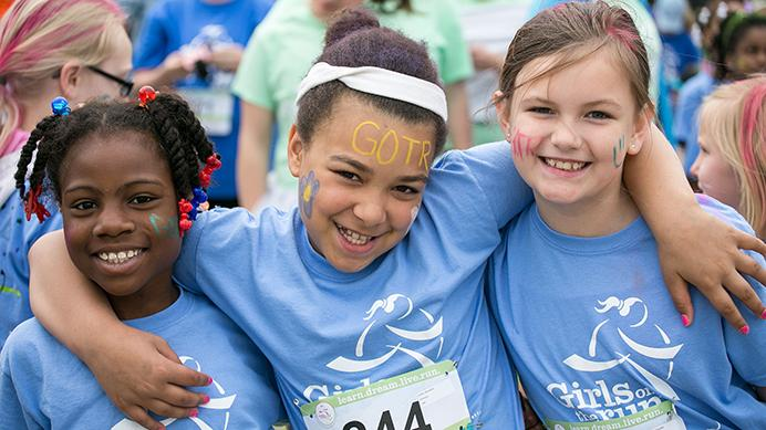 Eastern Iowa youth 'running' for lifelong success with Girls on the Run
