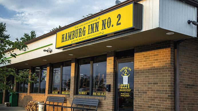Hamburg Inn No. 2 is seen on Sunday, August 27, 2017. The business recently opened a second location on 2221 Rochester Avenue in Iowa City. (James Year/The Daily Iowan)