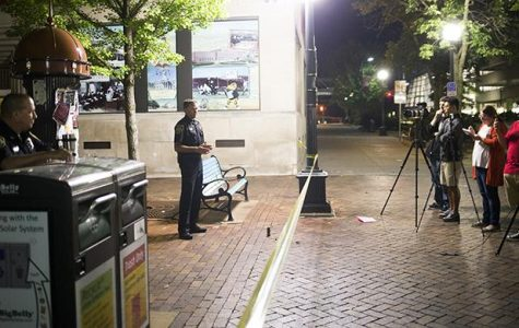 Some wary after Ped Mall shooting