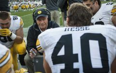 Iowa football's Morgan announces retirement