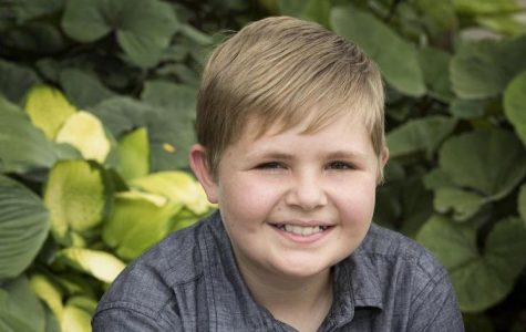 Young battler fights off cancer