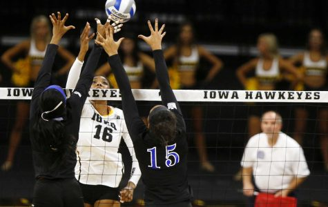 Volleyball pumped up for Iowa State