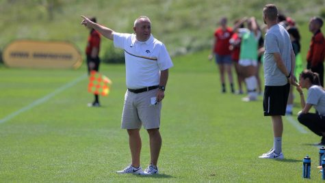 Iowa soccer begins road trip with loss to Ohio State