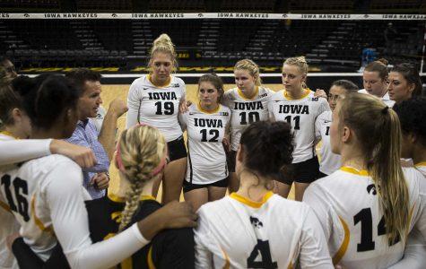 Iowa volleyball faces big time Big Ten battles