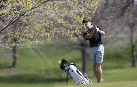 Iowa men's and women's golf in action