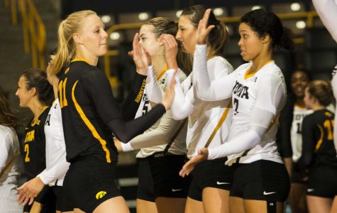 Iowa volleyball jumps right into conference play