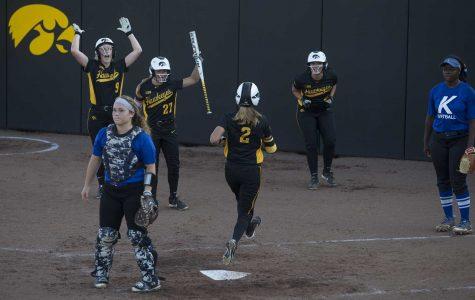 Speed fuels Iowa softball