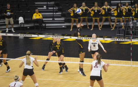 Iowa volleyball's Orr receives first collegiate honor