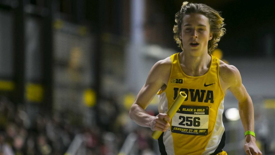FILE+-+Iowa+runner+Nathan+Mylenek+competes+during+the+distance+medley+during+a+track+meet+in+the+Iowa+Recreation+Building+on+Friday%2C+Jan.+27%2C+2017.+