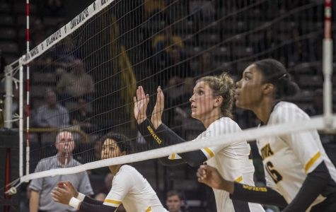 Iowa's volleyball intensity falters