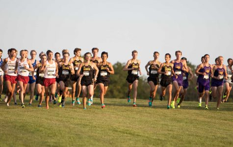 Hawkeye cross-country closes regular season in Illinois