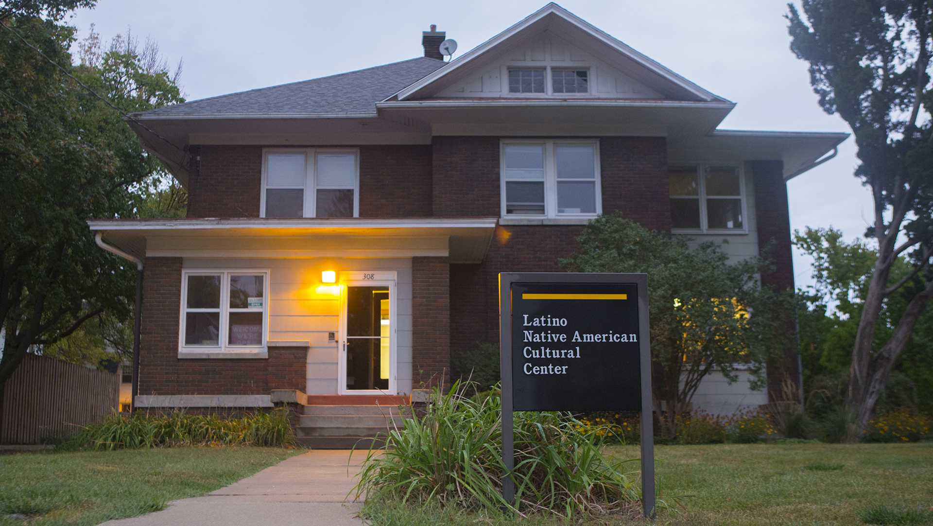 The Latino Native American Cultural Center is seen on Monday, Sept. 18, 2017. (Lily Smith/The Daily Iowan)