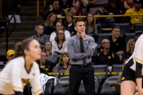 Iowa volleyball looks to keep building against Nebraska at home