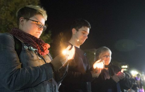 Sister vigil for assault victims held at UI