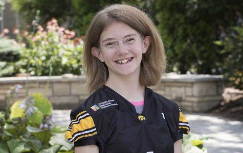 Football Kid Captain all smiles for Minnesota game