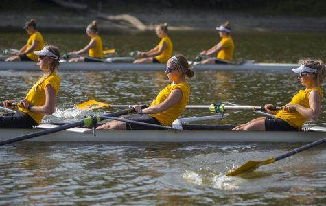 Iowa rowing's first varsity eight looks to fill seats