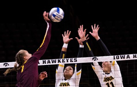 Confidence key for Iowa volleyball against no. 22 Michigan