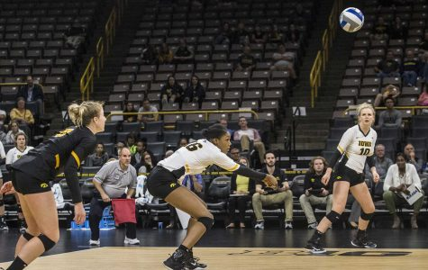 Iowa volleyball's confidence spikes after Michigan