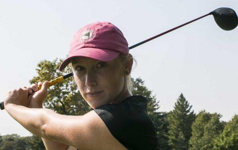 Women's golf falls behind in Chapel Hill