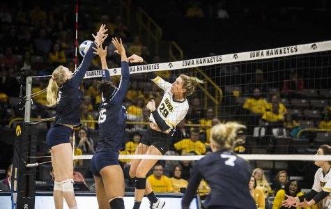 Volleyball flat, flatter, flattest against No. 1 ranked Penn State