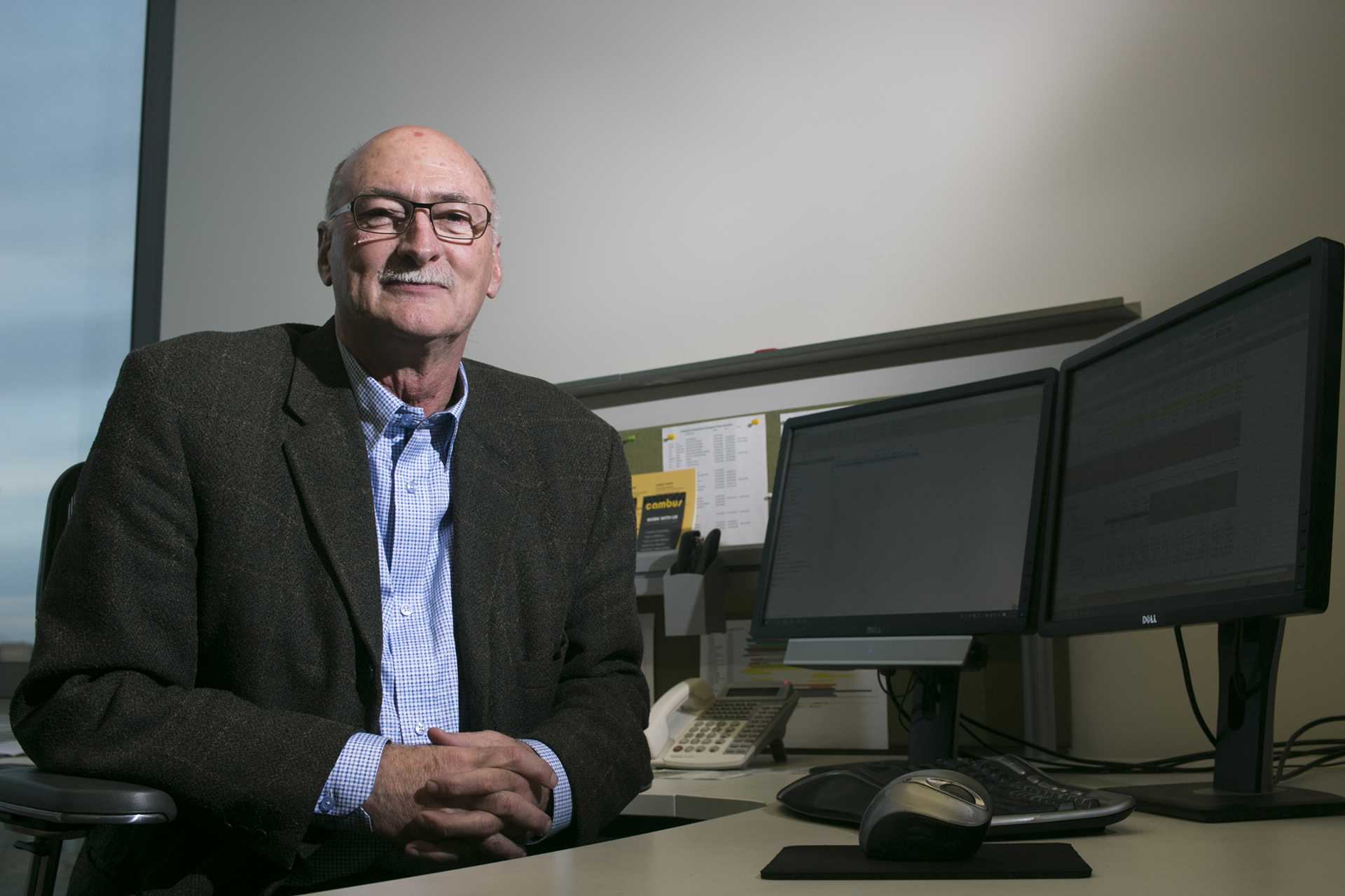 UI transportation director retires, reflects on storied career