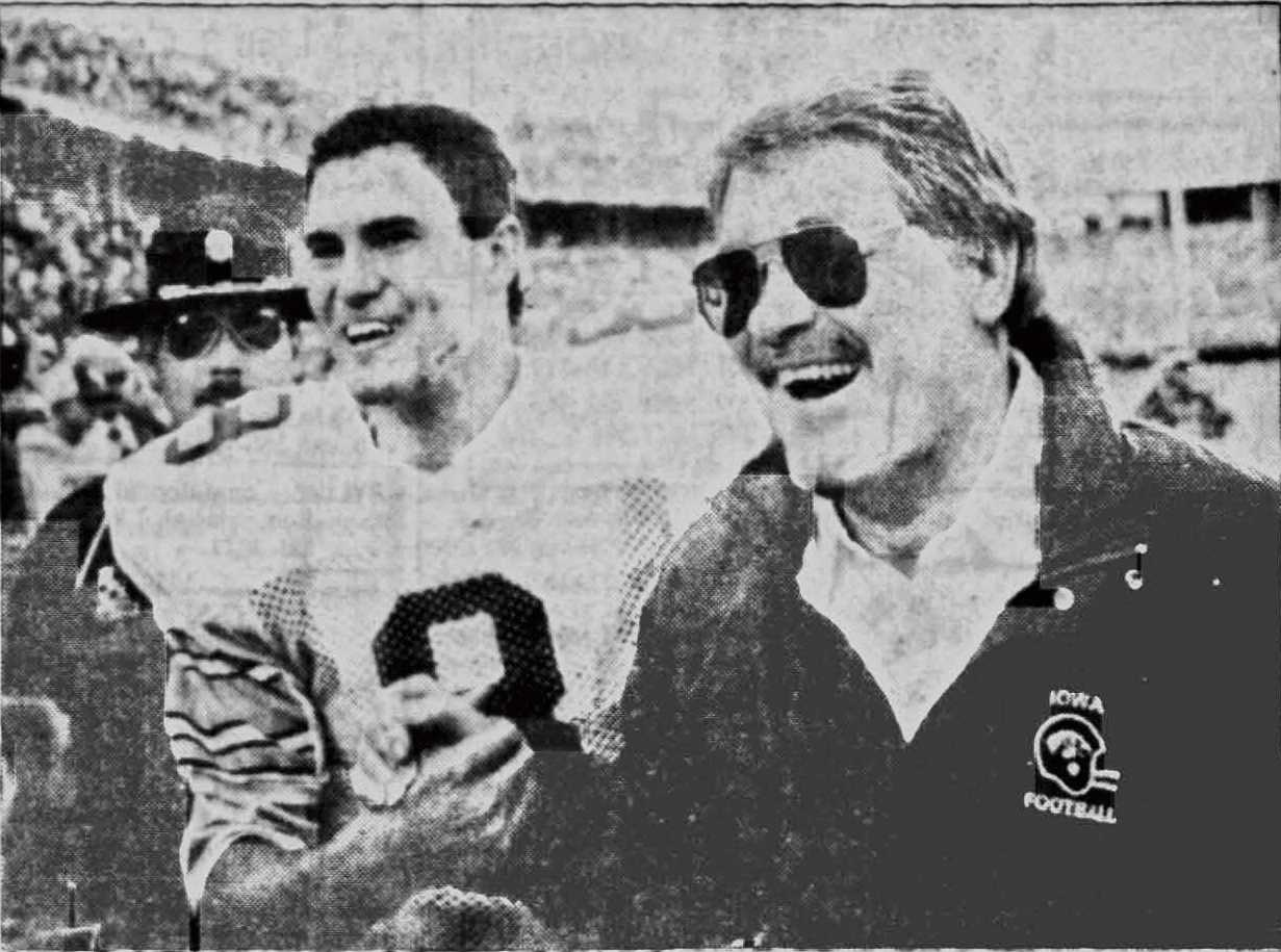 Iowa's Hayden Fry passes away