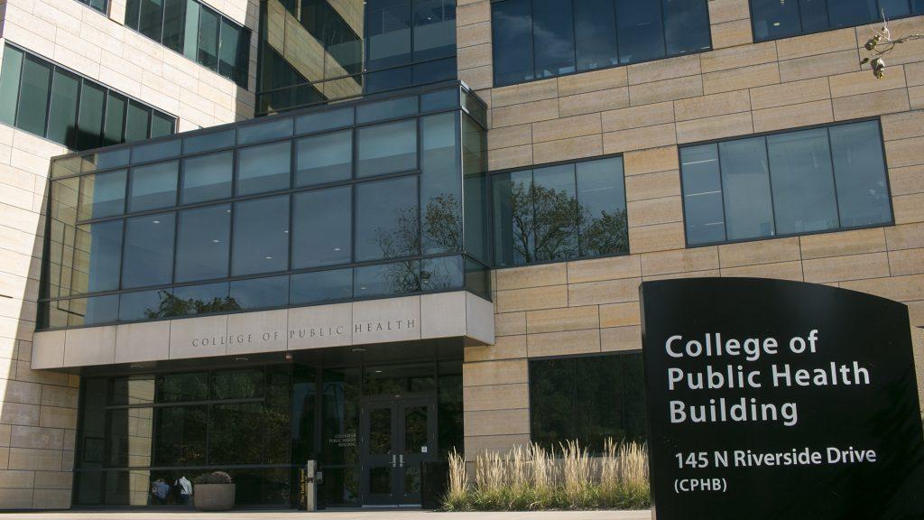 College of Public Health on Wednesday, Oct. 18, 2017. (Joseph Cress/The Daily Iowan)