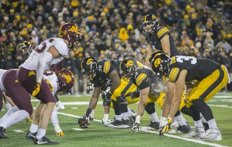 Without Boettger, Myers, Iowa's O-Line is lacking experienced depth