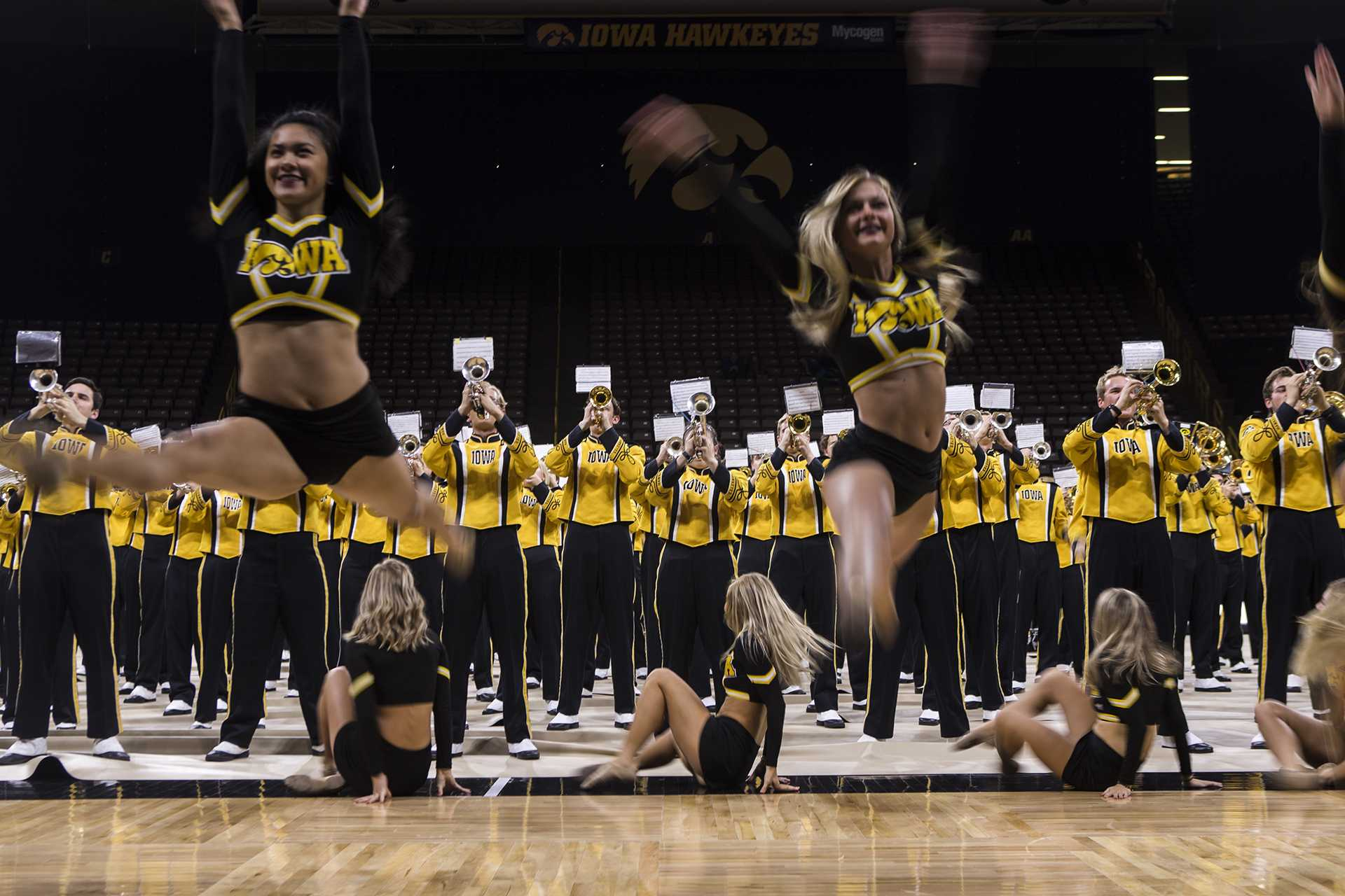 UI bands bedazzle at Extravaganza, acting as star of the football stadium