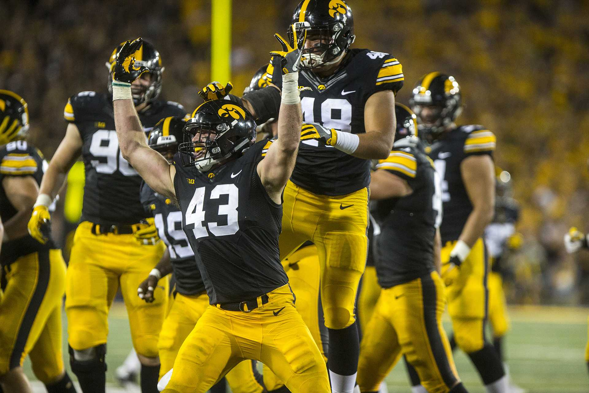 Point/Counterpoint: Which Hawkeye football player will be the most improved?