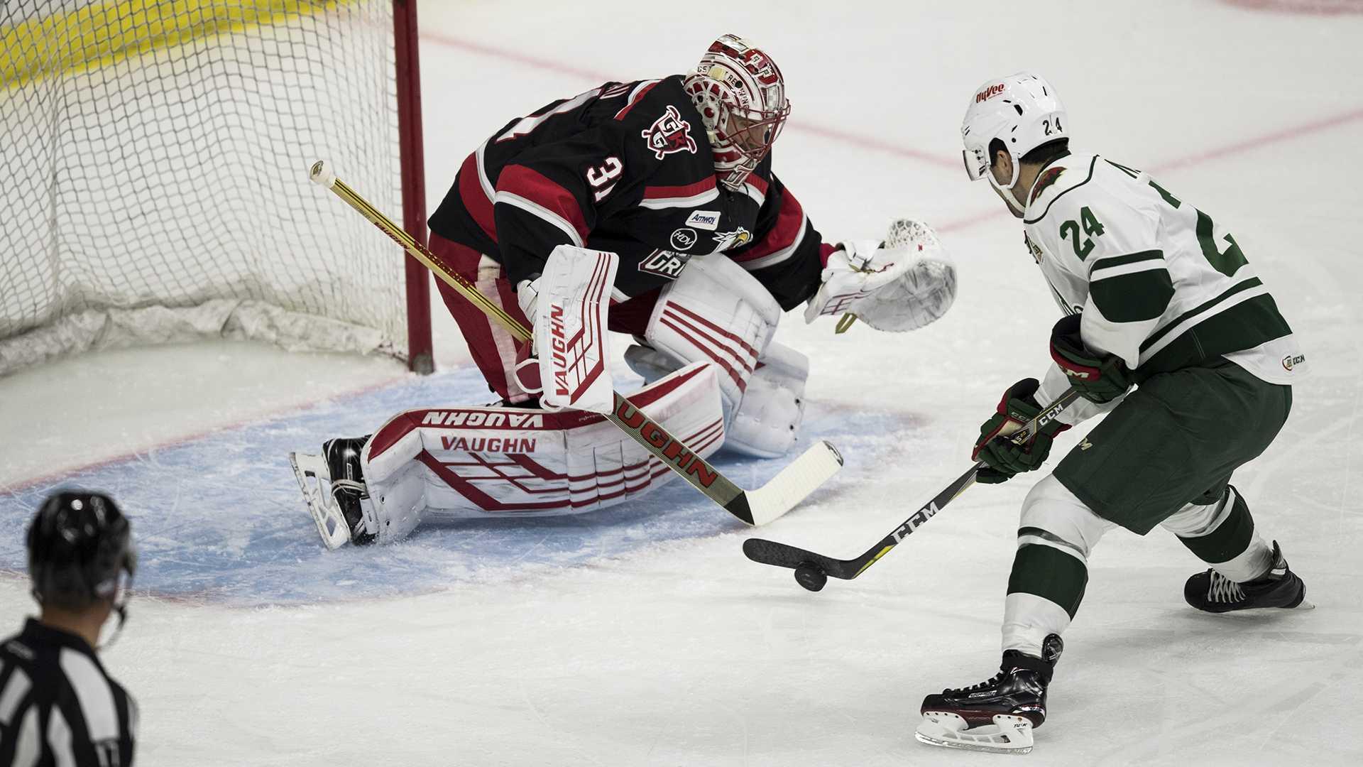 Photos: Iowa Wild vs. Grand Rapids Griffins AHL Game