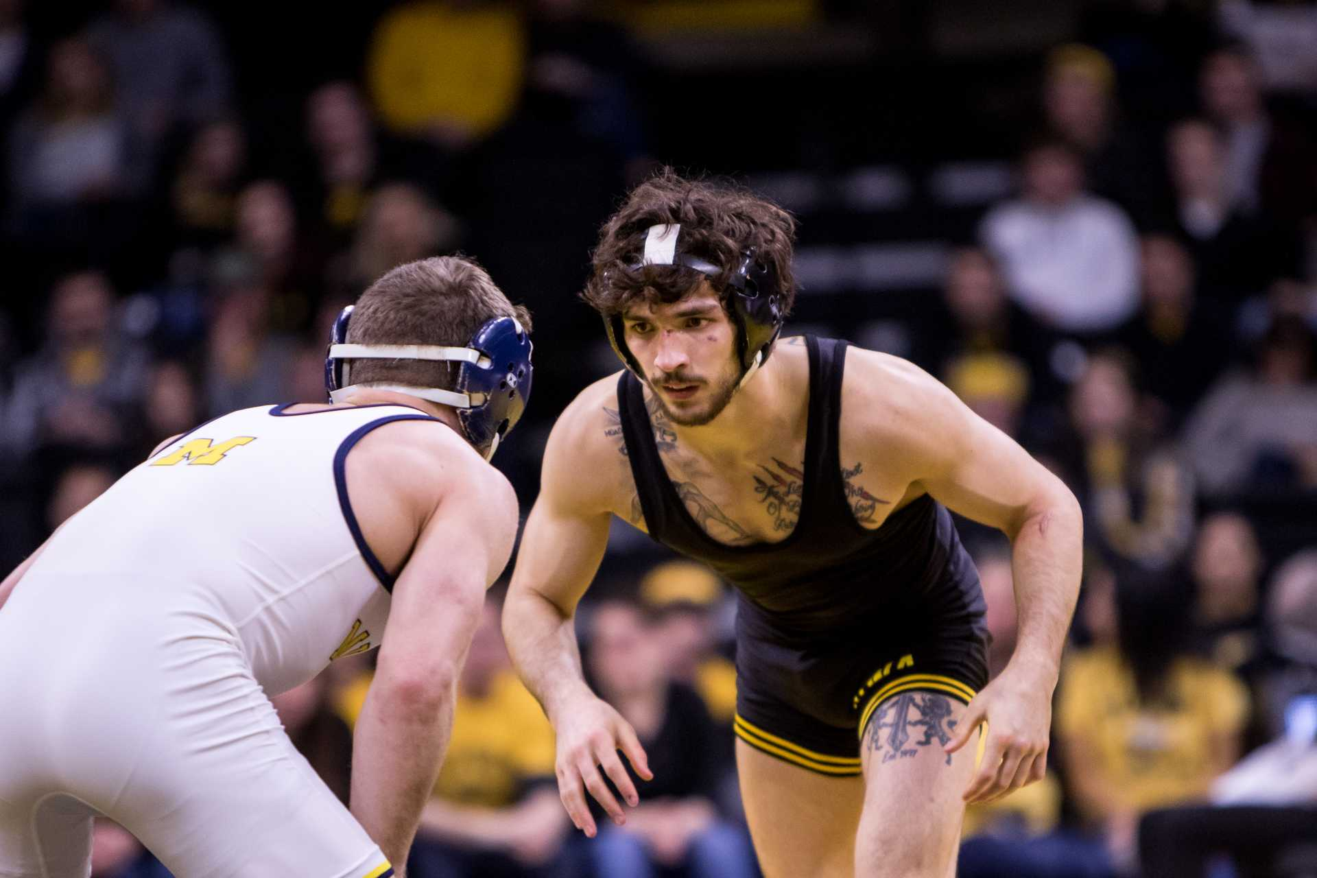 Iowa wrestling's Stoll, Turk suspended for season-opener