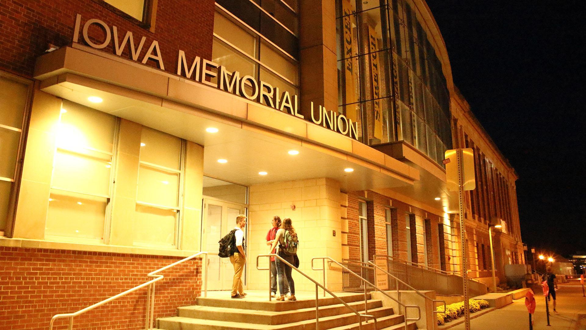 The Iowa Memorial Union as seen Monday, Oct. 9th 2017. (Ashley Morris/The Daily Iowan)