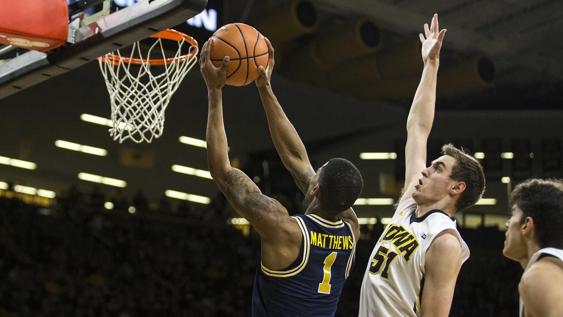 Photos: Iowa Men's Basketball vs. Michigan (01/02/17)