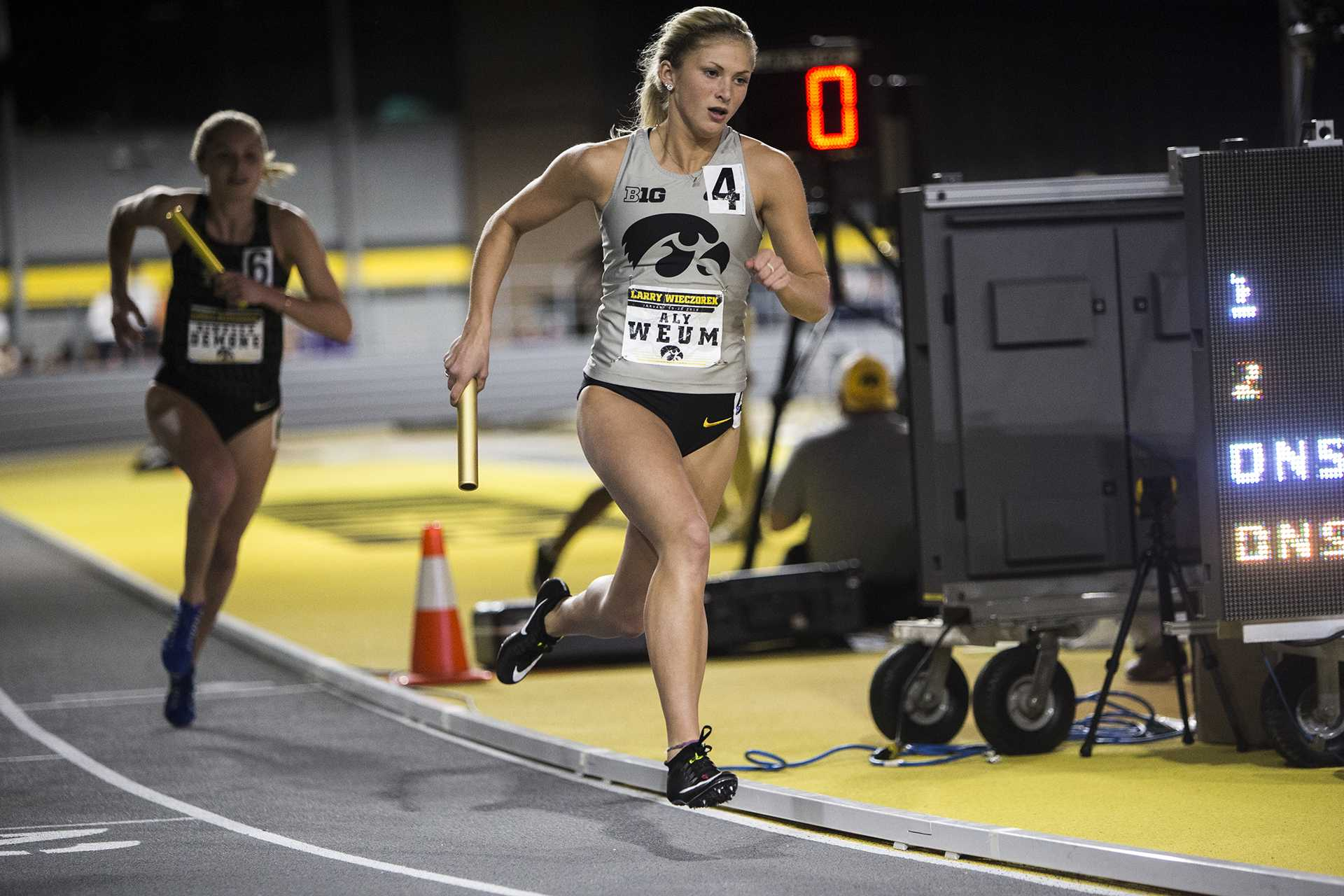 Iowa women's track and field continues to thrive on the road