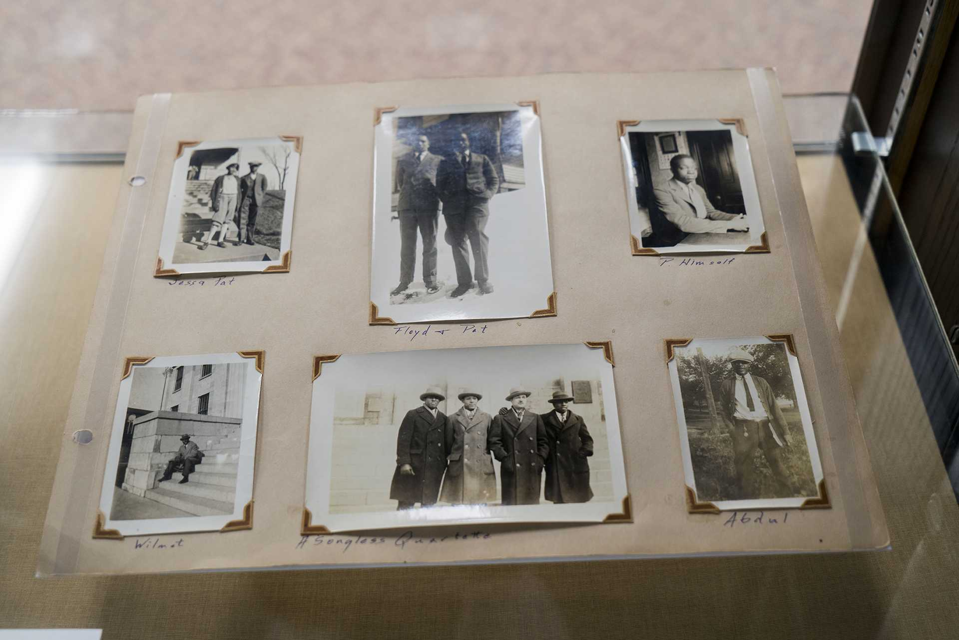 A exhibition named Student Selections Exhibitions showed student's favorite historical items which provided by them. This exhibition is showing in the third floor, main library. Feb 26, 2018(Gaoyuan Pan/The Daily Iowan)