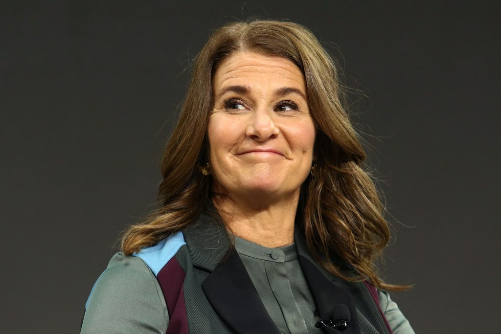 Melinda+Gates+appears+on+stage+during+the+Bill+and+Melinda+Gates+foundation%26apos%3Bs+Goalkeepers+2017+at+Jazz+at+Lincoln+Center+in+New+York+on+September+20%2C+2017.+%28PBG%2FEMPICS+Entertainment%2FAbaca+Press%2FTNS%29
