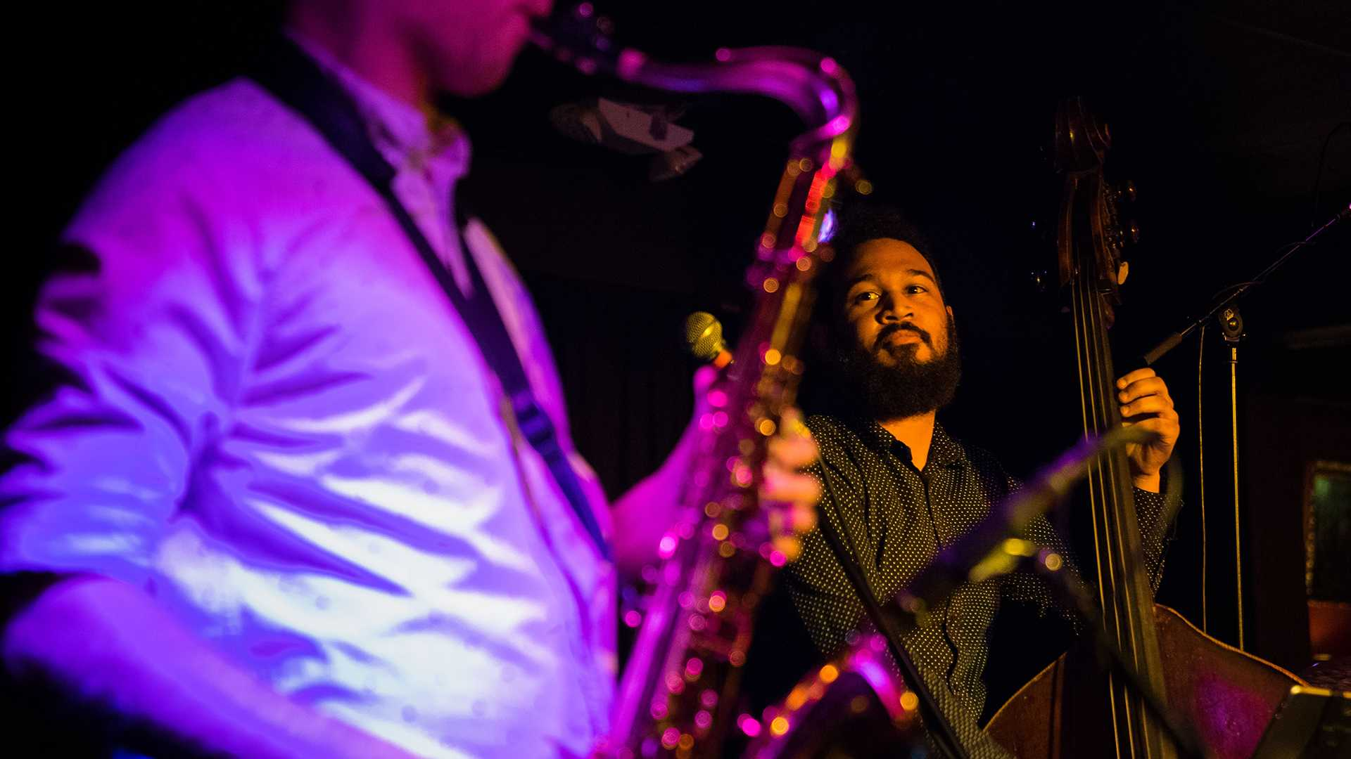 Two jazz trios rocked the Mill last Friday