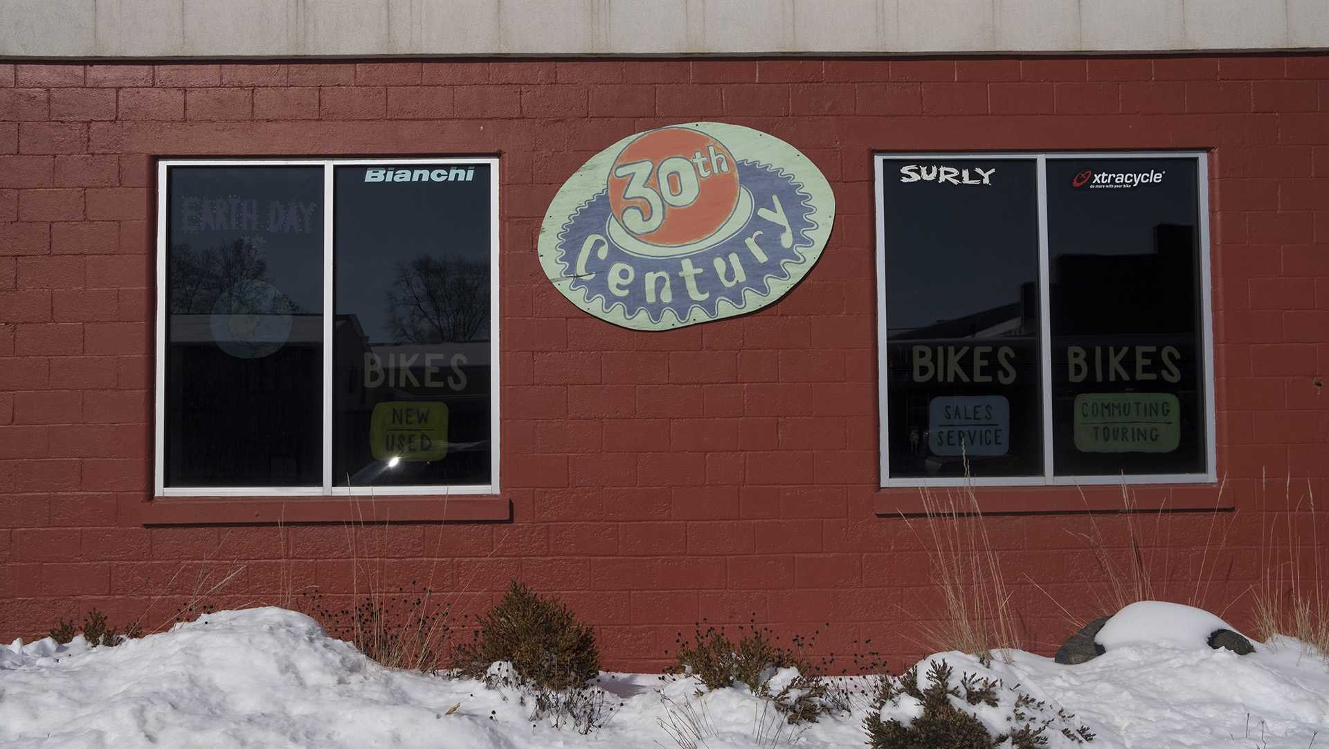 30th Century Bicycle is seen on Tuesday, Feb. 13, 2018. The bike shop announced it was closing on Valentine's Day earlier this year. (Nick Rohlman/The Daily Iowan)