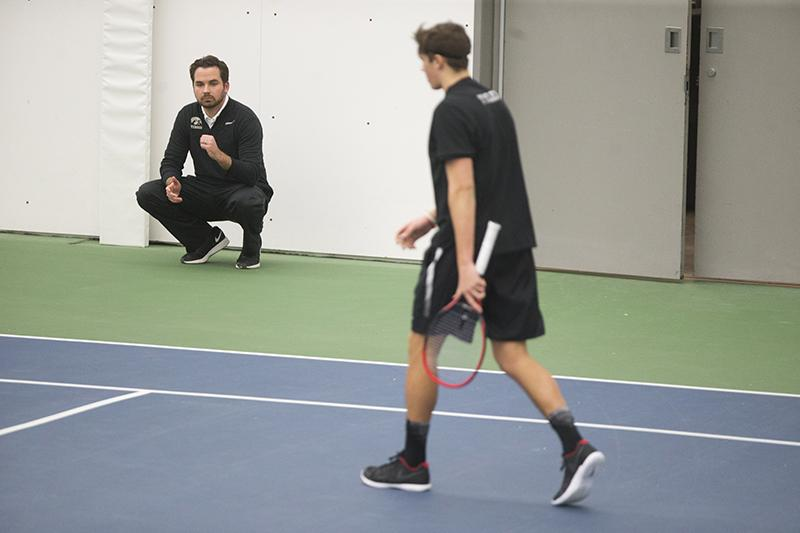 Iowa tennis looks for mental edge