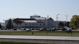 The Iowa Medical and Classification Center is seen on Sept. 21, 2017.