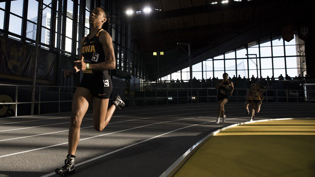 Iowa%27s+Briana+Guillory+participates+in+the+Women%27s+600m+Run+during+the+annual+Black+and+Gold+Intrasquad+Meet+at+the+UI+Recreation+Building+on+Saturday%2C+Dec.+9%2C+2017.+Guillory+finished+first+with+a+time+of+1%3A30%3A01.+The+Hawkeyes+will+host+the+next+meet+on+January+13.+%28Ben+Allan+Smith%2FThe+Daily+Iowan%29