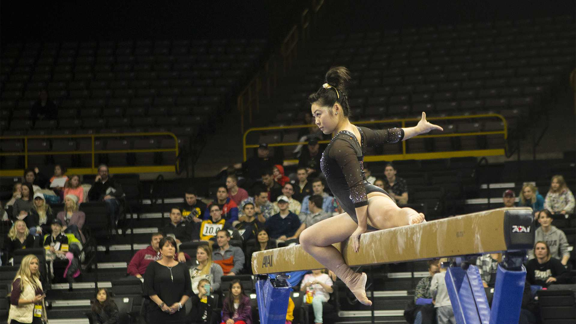 GymHawks take the gold at Big Five Meet