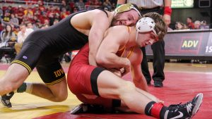 Iowa wrestling clobbers the Cyclones – again